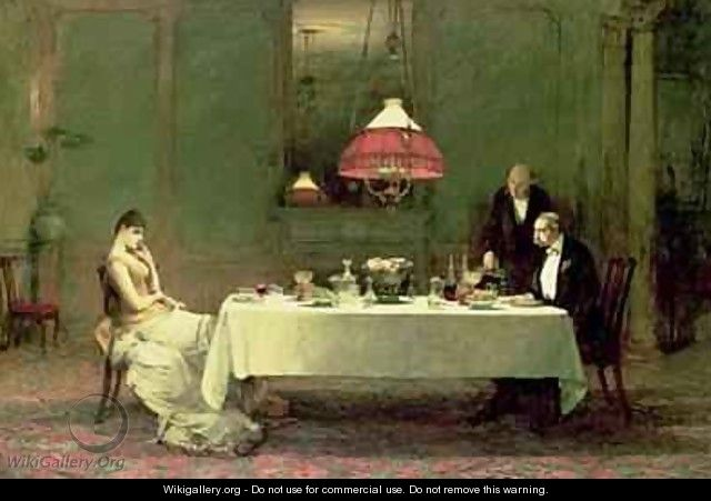 The Marriage of Convenience 1883 - Sir William Quiller-Orchardson