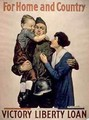 For Home and Country Victory Liberty Loan 1st World War poster - Alfred Everitt Ore