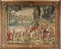 The Hunts of Maximilian Libra The Stag Hunt Caught in the River - (after) Orley, Bernard van