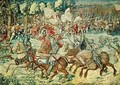 The Battle of Pavia The Advance of Charles V 1500-58 - (after) Orley, Bernard van