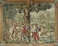 The Hunts of Maximilian Leo The Stag Hunt The Report - (after) Orley, Bernard van