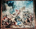 The Battle of the Israelites and Amelikites - (after) Orley, Jan van