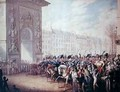 The Entrance of the Emperors into Paris - George Emmanuel Opitz