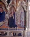 The Strozzi Altarpiece 1357 5 - Andrea Orcagna