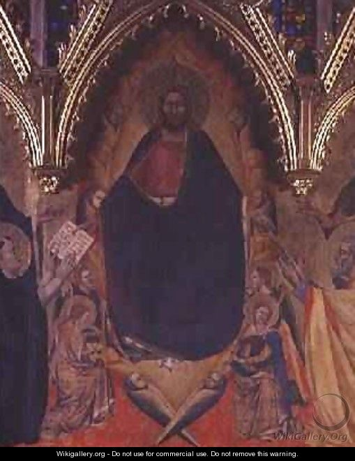 The Strozzi Altarpiece 1357 4 - Andrea Orcagna