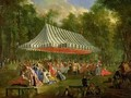 Festival Given by the Prince of Conti to the Prince of BrunswickLunebourg at lIsleAdam 1766 - Michel-Barthelemy Ollivier