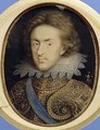 Miniature portrait of Henry 1594-1612 Prince of Wales - Isaac Oliver