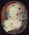 Queen Anne of Denmark miniature - Isaac Oliver