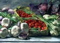 Still Life with Vegetables - Giovanni Segantini