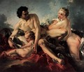 The Education of Cupid - François Boucher