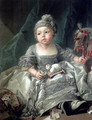Portrait of Louis Philippe Joseph, Duke of Montpensier as a child - François Boucher