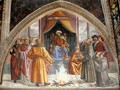 St Francis cycle, Test of Fire before the Sultan - Domenico Ghirlandaio