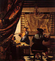 Johannes Vermeer of Delft workshop, Allegory of Painting - Eduardo Zamacois y Zabala