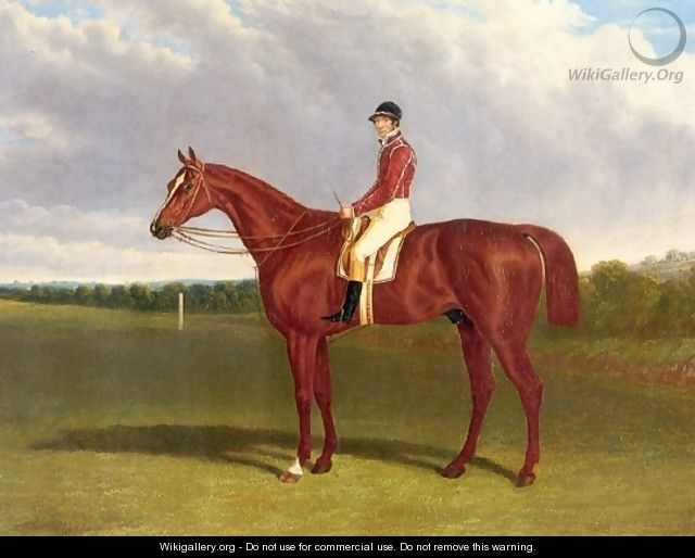 Pleni Potententiary With Jockey Up 1835 - John Frederick Herring Snr