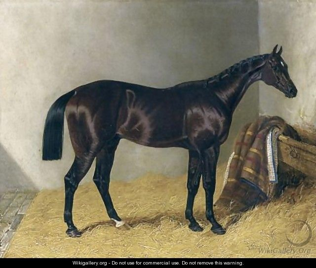 Mango In a Stable 1837 - John Frederick Herring Snr
