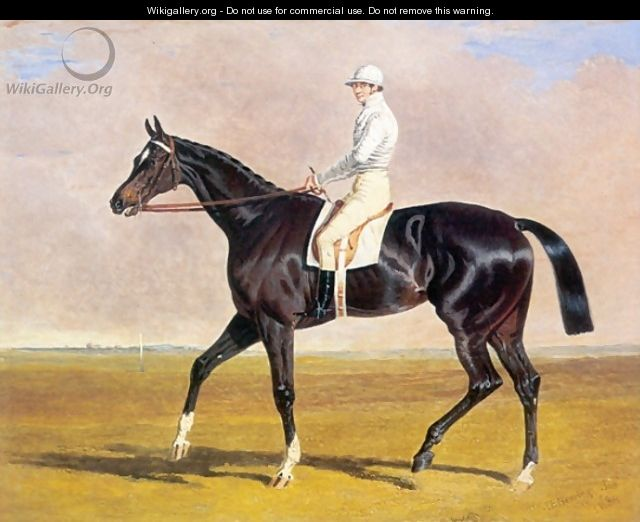 Lucetta with Jockey Up 1834 - John Frederick Herring Snr