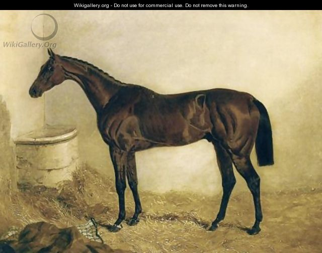 Little Wonder in a Stable 1840 - John Frederick Herring Snr