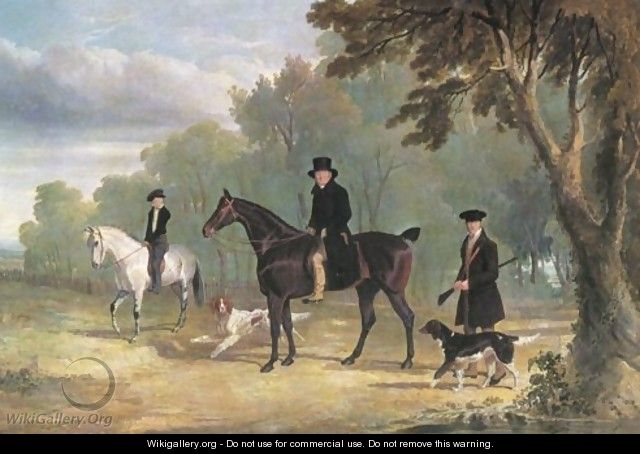 The Sorby Family Of Button Hall 1828 - John Frederick Herring Snr