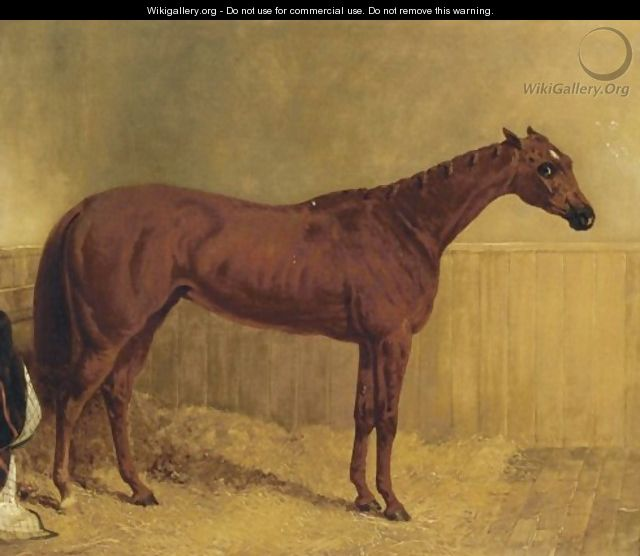 The Princess Winner 1844 The Oaks 1844 - John Frederick Herring Snr
