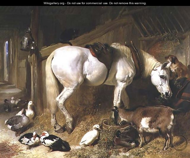 The Midday Meal, 1850 2 - John Frederick Herring Snr