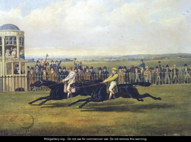 The Finish Of A Race - John Frederick Herring Snr