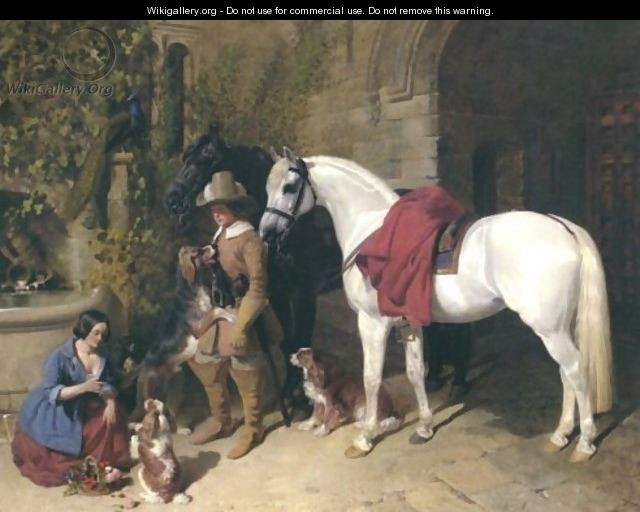 The Barons Charger 1850 - John Frederick Herring Snr