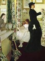 Harmony in Green and Rose, The Music Room - James Abbott McNeill Whistler