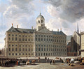 The Town Hall on the Dam, Amsterdam 2 - Gerrit Adriaensz Berckheyde