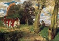 The Moors Cavaliers - Arnold Böcklin