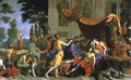 Death of Meleager - Charles Le Brun