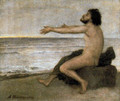 Ulysses by the sea - Arnold Böcklin