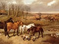 Foxhunting, End of the Hunt - John Frederick Herring, Jnr.