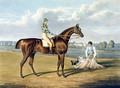 Barefoot, Winner of the St Leger, engraved by Thomas Sutherland - John Frederick Herring Snr