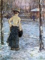 Winter, Central Park - Childe Hassam
