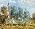 The Southwest Wind - Childe Hassam