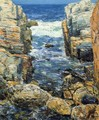 The South Gorge, Appledore, Isles of Shoals - Childe Hassam
