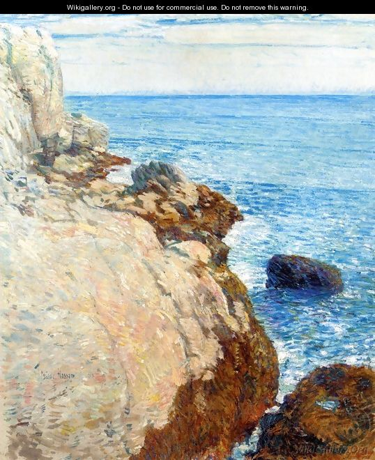 The East Headland, Appledore - Childe Hassam