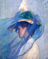 The Blue Veil - Edmund Charles Tarbell