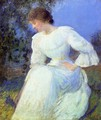 Girl in White - Edmund Charles Tarbell