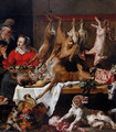 The market game - Frans Snyders