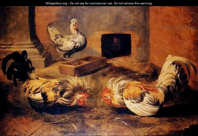 The henhouse - Frans Snyders