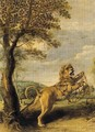 The fable of the Lion and the Mouse - Frans Snyders