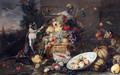 Monkeys fruit thieves - Frans Snyders