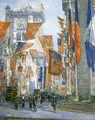 Avenue of the Allies - Childe Hassam
