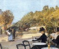 At the Cafe - Childe Hassam