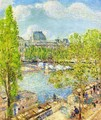 April, Quai Voltaire, Paris - Childe Hassam