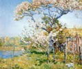 Apple Trees in Bloom, Old Lyme - Childe Hassam