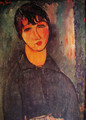The Maid - Amedeo Modigliani