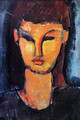 Head of a young woman 2 - Amedeo Modigliani
