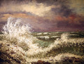 The Wave 4 - Gustave Courbet